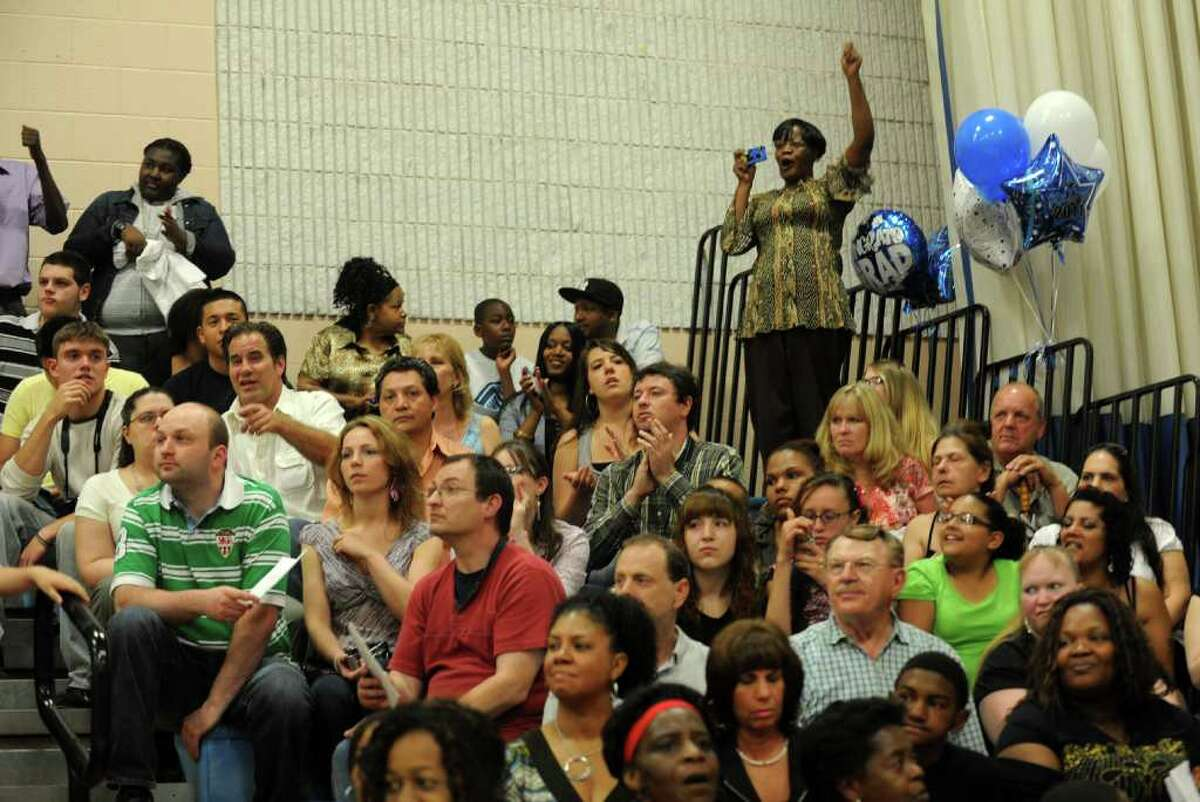 Highlights from Ansonia High School's Commencement Exercises in Ansonia, Conn. on Thursday June 17, 2011.