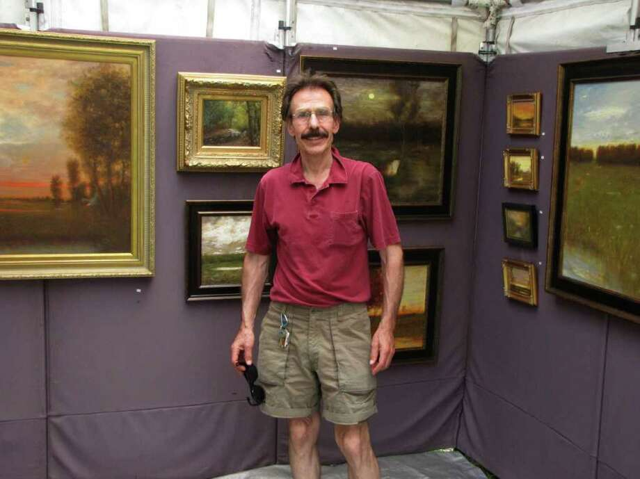 Were you seen at the New Milford Outdoor Art Festival on Saturday, June 18, 2011? Photo: Vincent Rodriguez / The News-Times