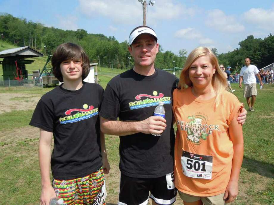 Were you seen at the 2011 Warrior Run at West Mountain? Photo: Kelly Dufel