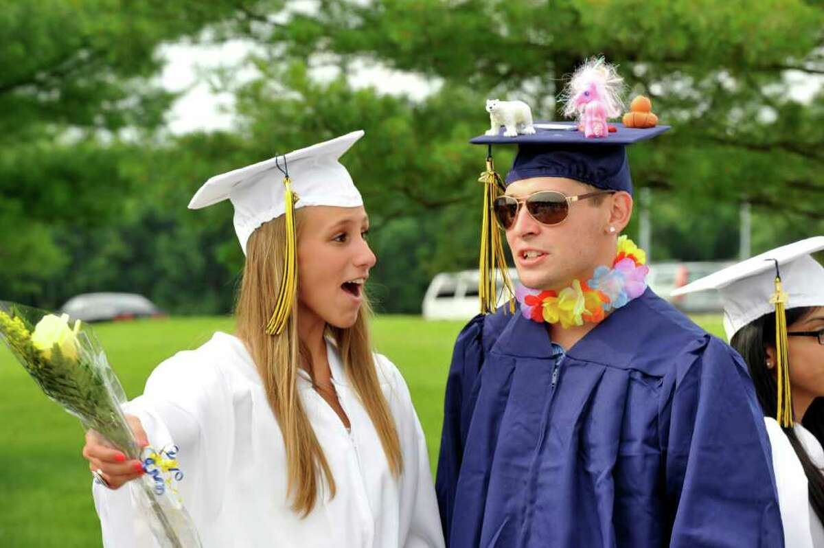 Brookfield High School's graduation was held at Western Connecticut State University's O'Neill Center in Danbury, Saturday, June 18, 2011.