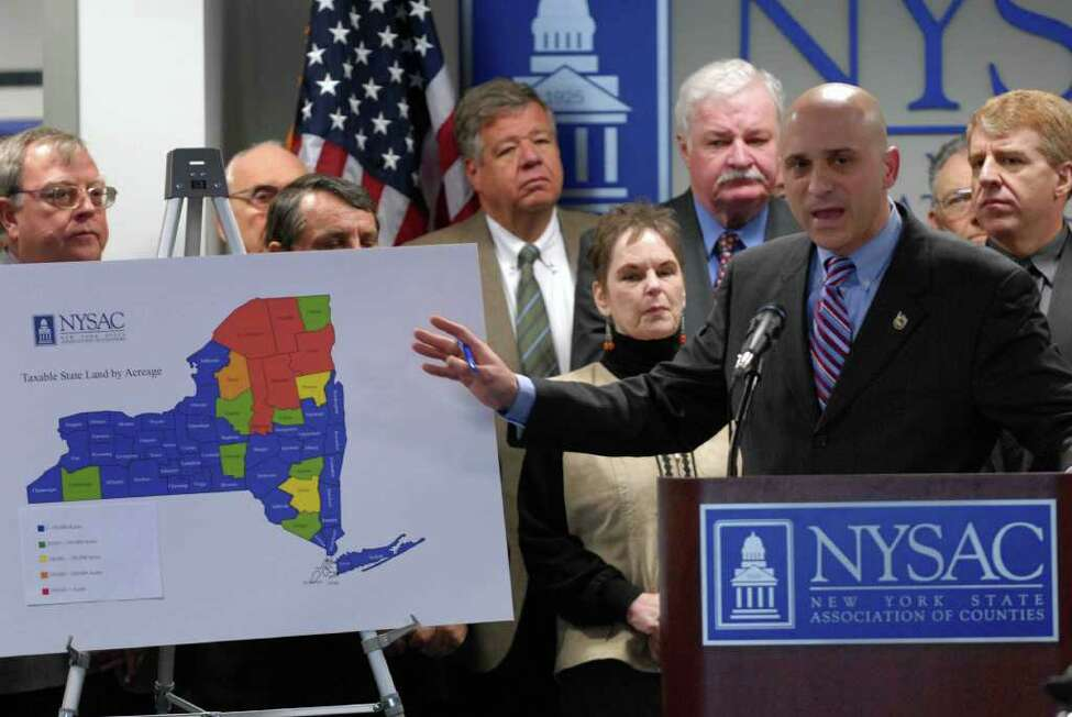 Stephen J. Acquario, executive director of the New York Association of Counties. (Michael P. Farrell / Times Union)