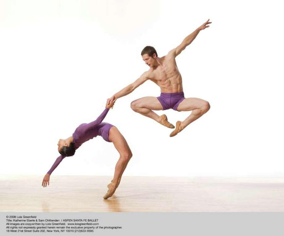 Katherine Eberle & Sam Chittenden of Aspen Santa Fe Ballet to perform at Jacob's Pillow Dance Festival 2011; photo Lois Greenfield