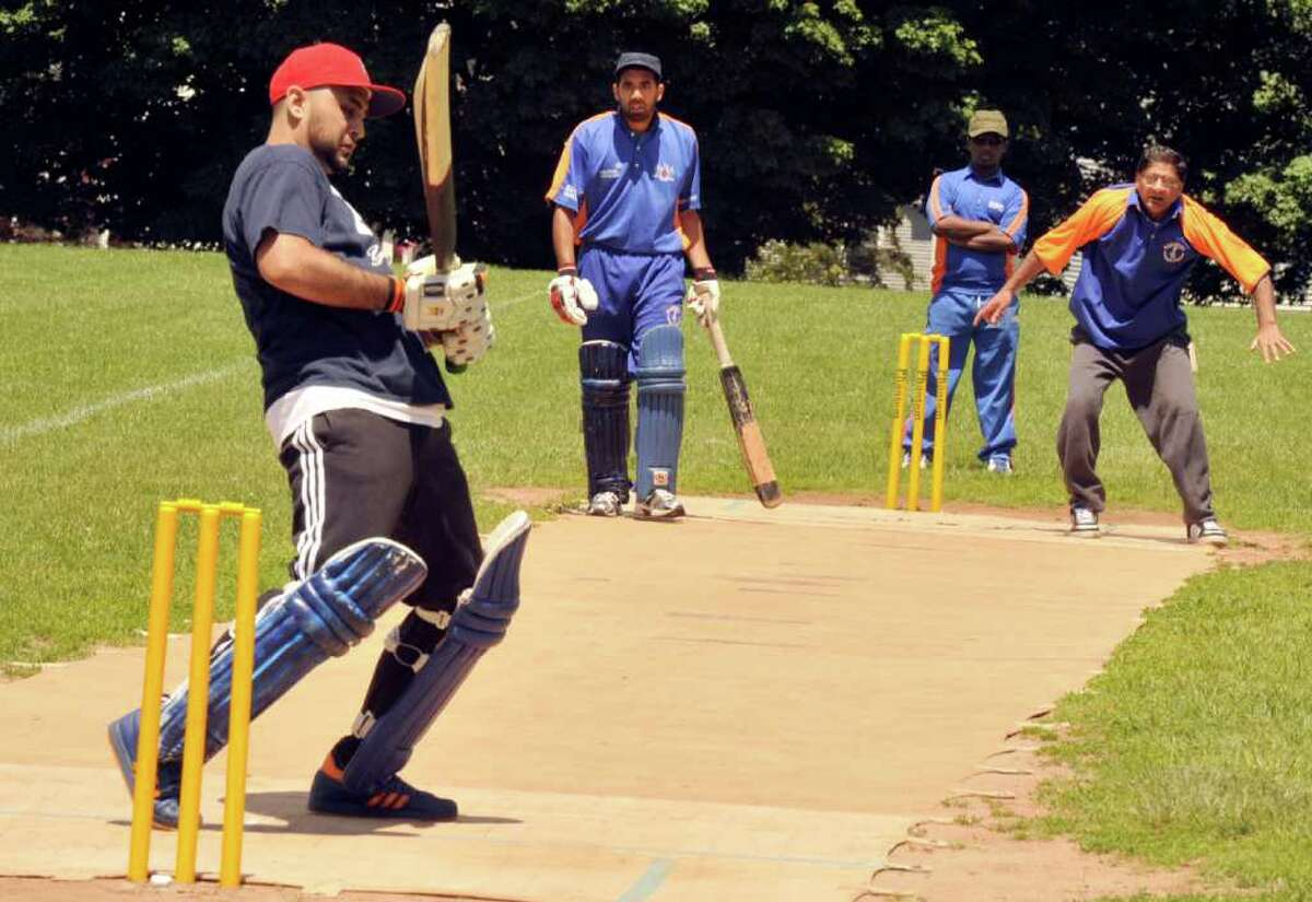 The Danbury Cricket Club played a special Father's Day match, Sunday, in Danbury, June 19, 2011.