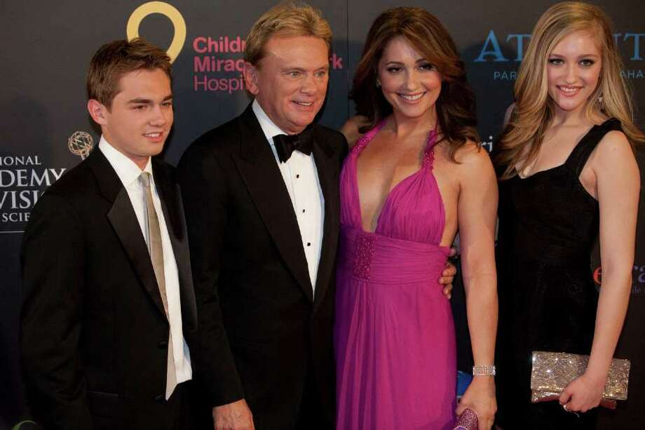 Pat Sajak and his family arrive at the 38th Annual Daytime Emmy Awards show in Las Vegas on Sunday, June 19, 2011. Photo: ADRIAN SANCHEZ-GONZALEZ, AFP/Getty Images / 2011 AFP