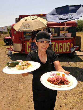 Celia Davis is co-owner and operator of Chela's Tacos. Photo: Robin Jerstad/Special To The Express-News