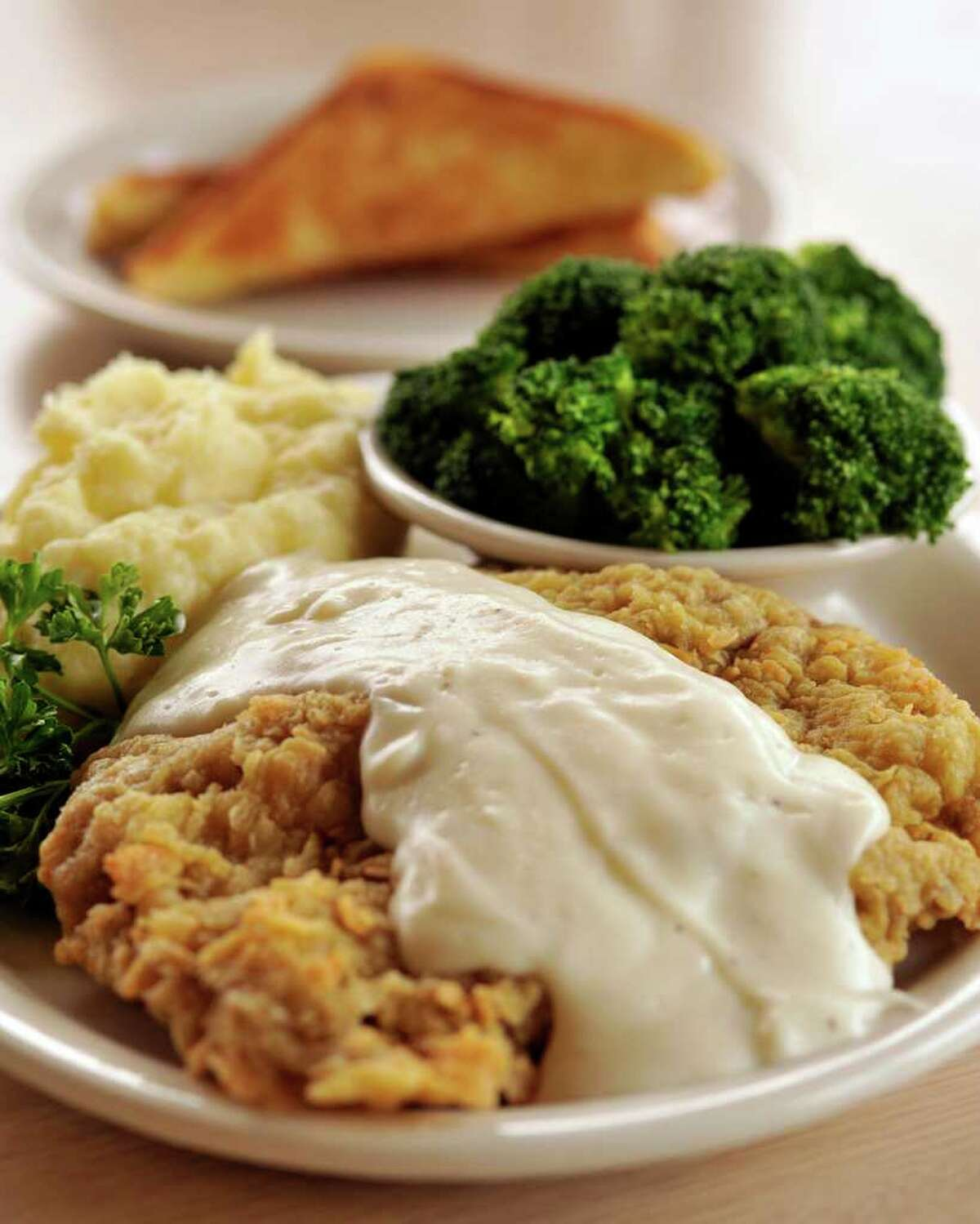 Chicken Fried Steak from Jim's Restaurant, voted the Readers' Choice for best longtime favorite and best service.