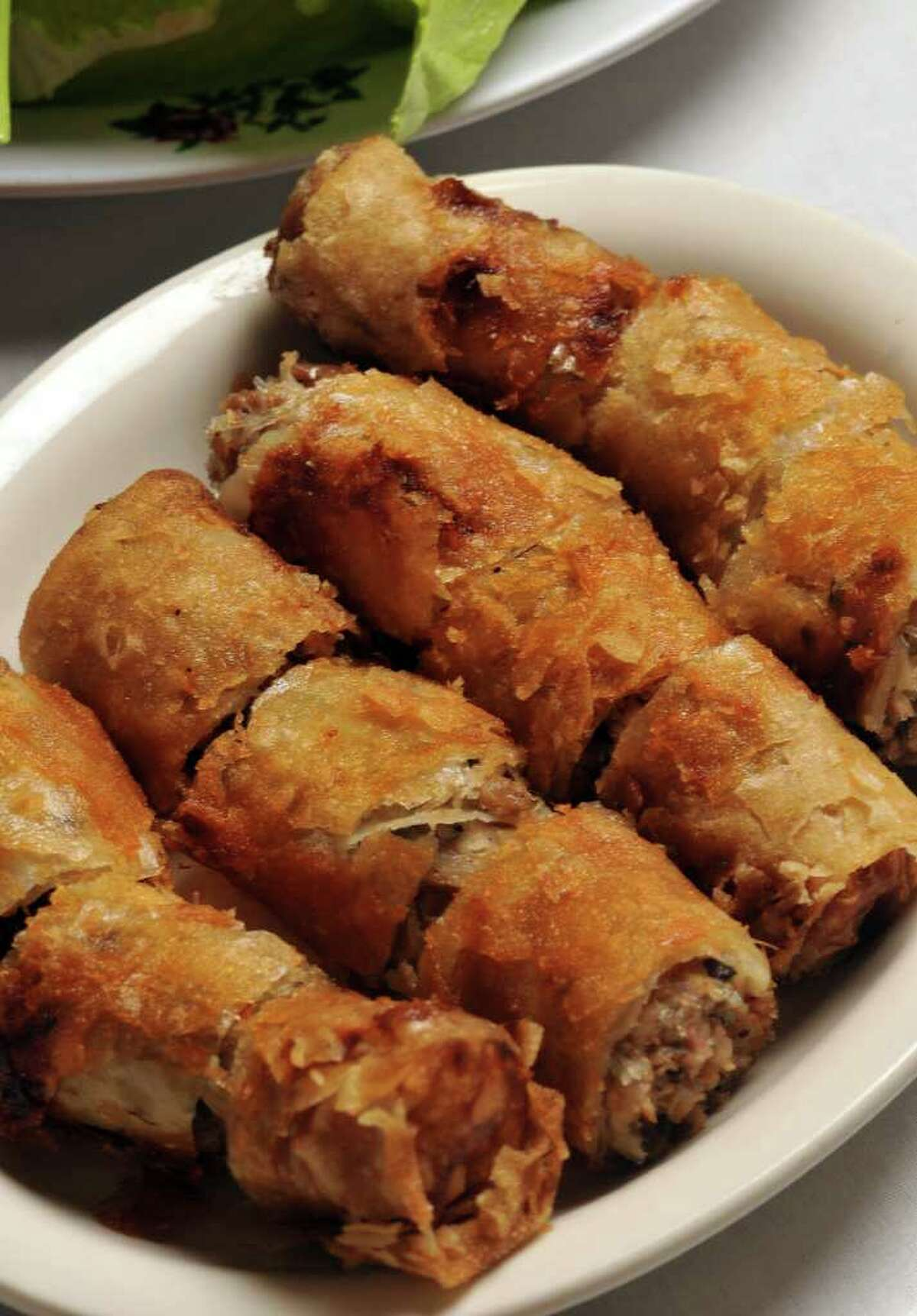 Spring rolls are a mainstay on Viet-Nam Restaurant's menu.