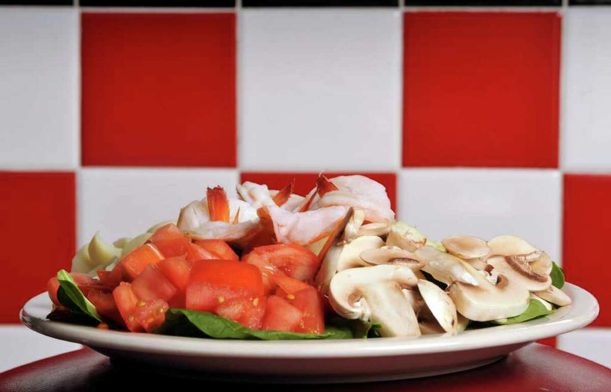 Salads are among many options on Checkers Diner's broad menu.