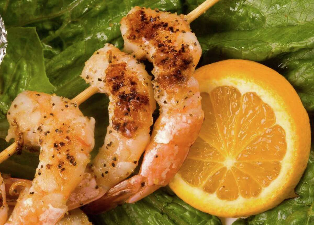 Along with fried fish, grilled shrimp is another customer favorite on the Bud Jones Restaurant menu.
