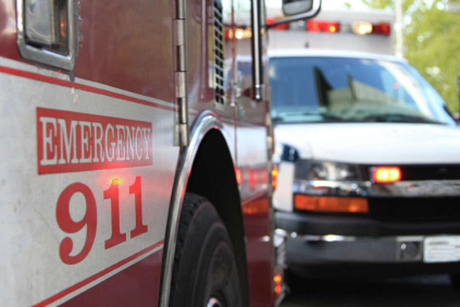 stock police hospital ambulance emergency fire