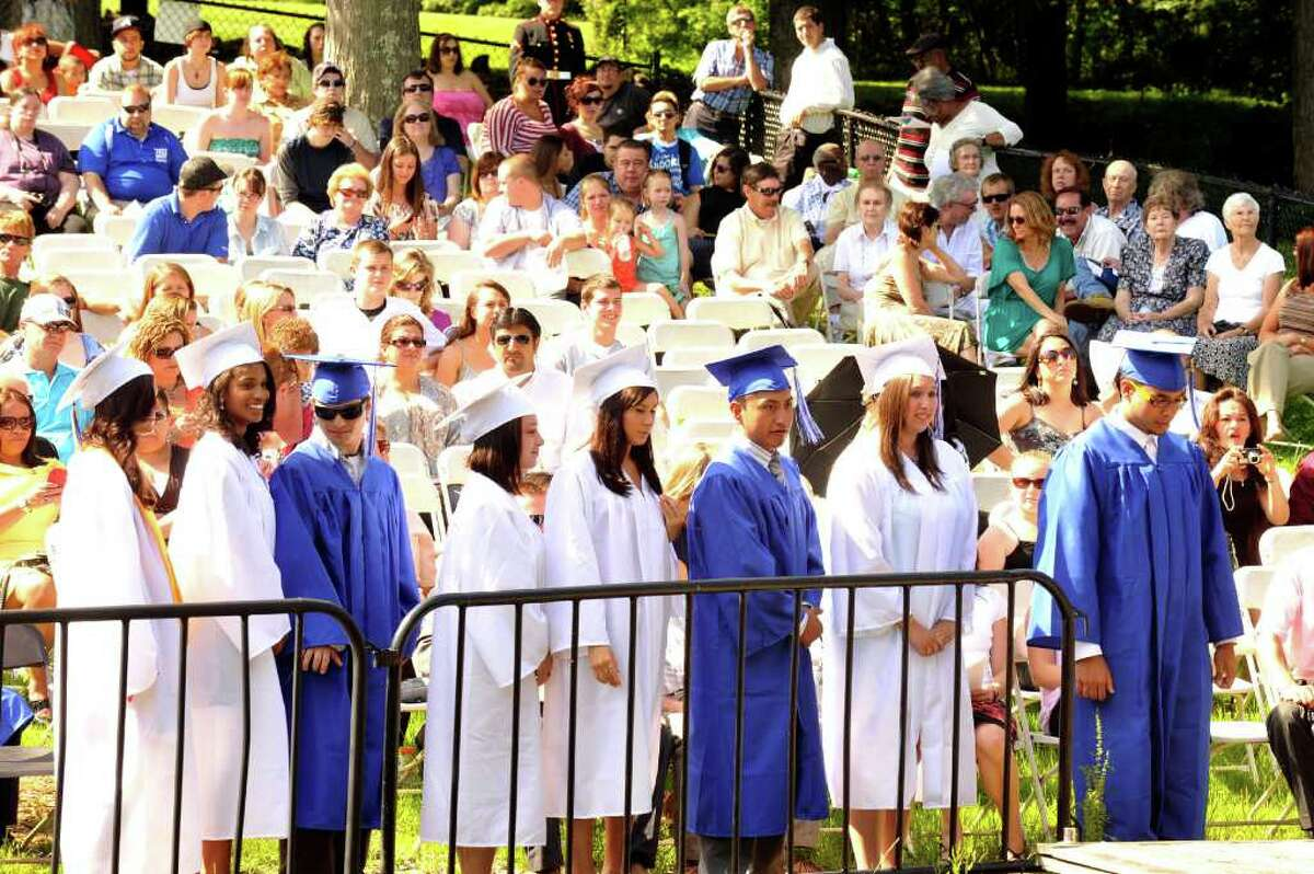 Henry Abbott Technical High School graduation was at the Ives Center in Danbury Monday, June 20, 2011.
