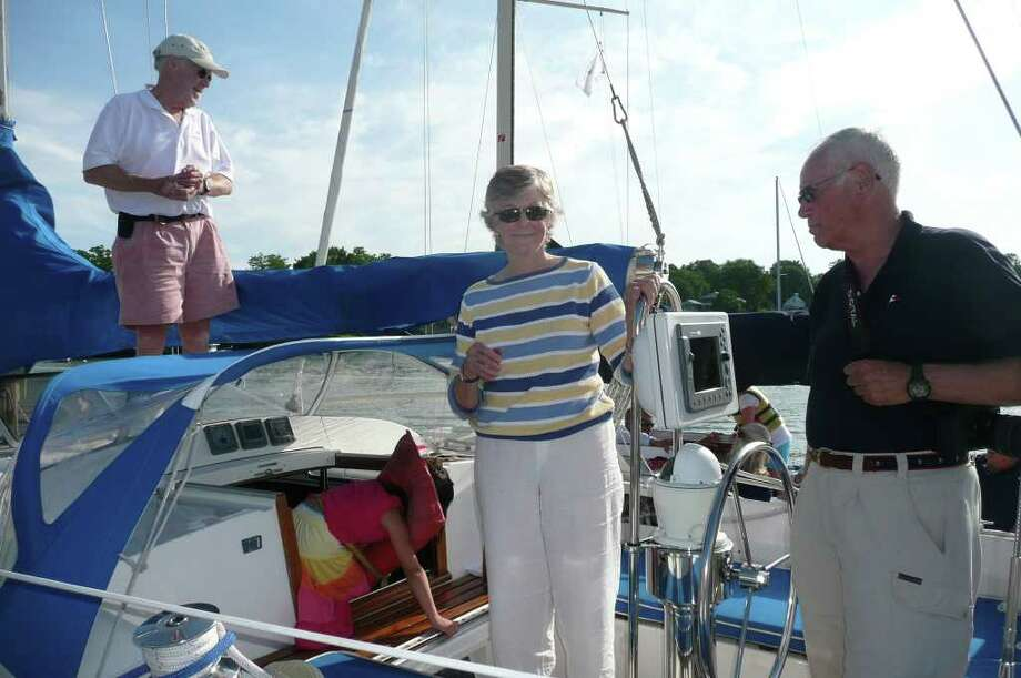 2011 Indian Harbor Yacht Club Father's Day Open Boat House Photo: Anne W. Semmes