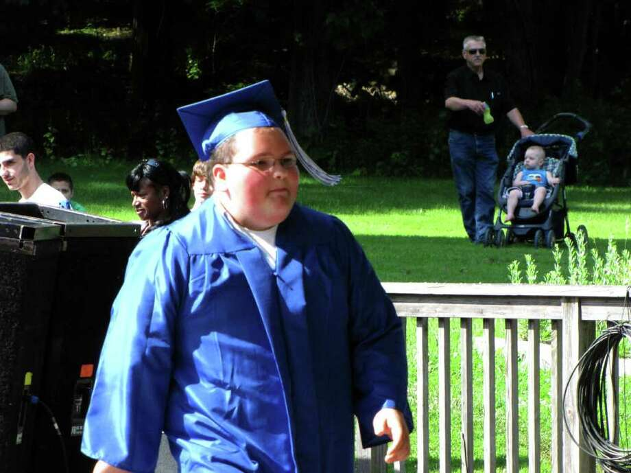 Were you seen at the Henry Abbott Tech High School graduation at the Ives Concert Park at WCSU in Danbury, CT on Monday, June 20, 2011? Photo: Vincent Rodriguez / The News-Times