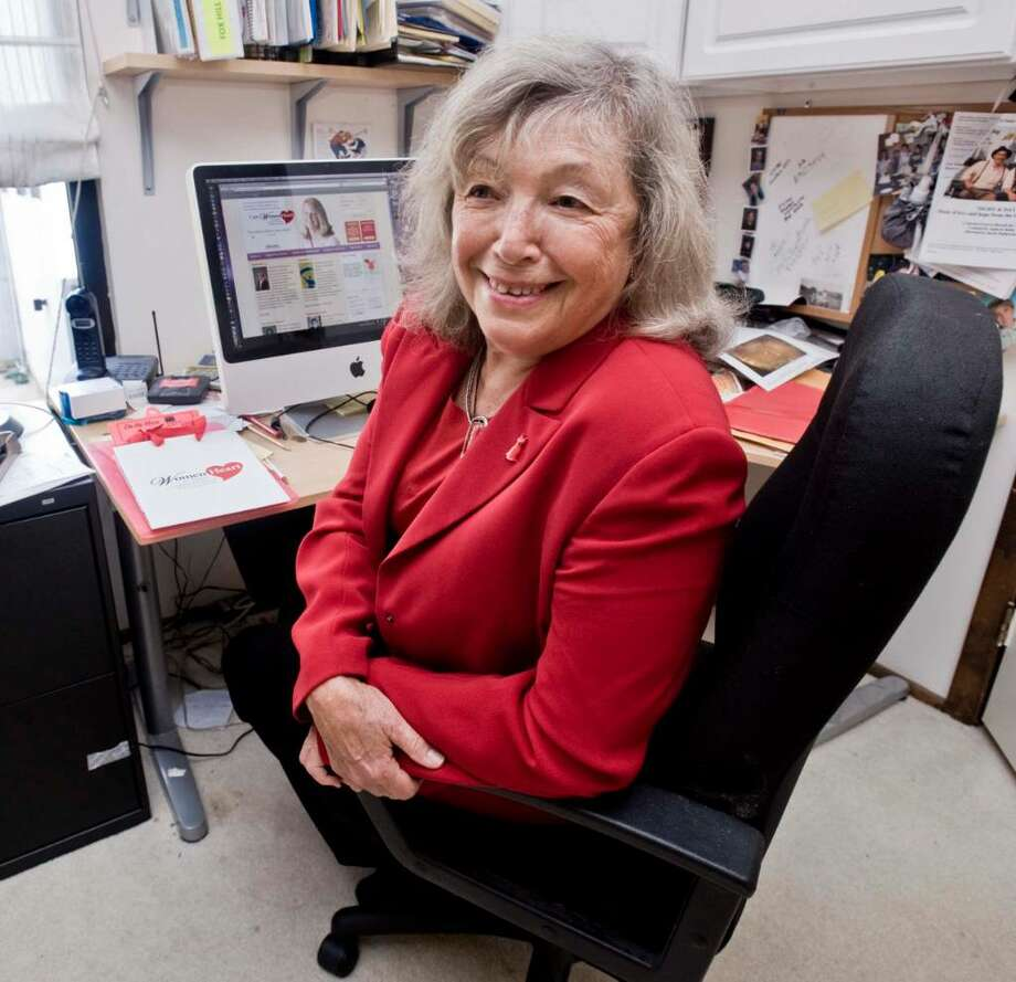 Emelie Howard of Ridgefield is starting a woman's group for women with heart problems. Friday, Sept. 25, 2009 Photo: Scott Mullin / The News-Times