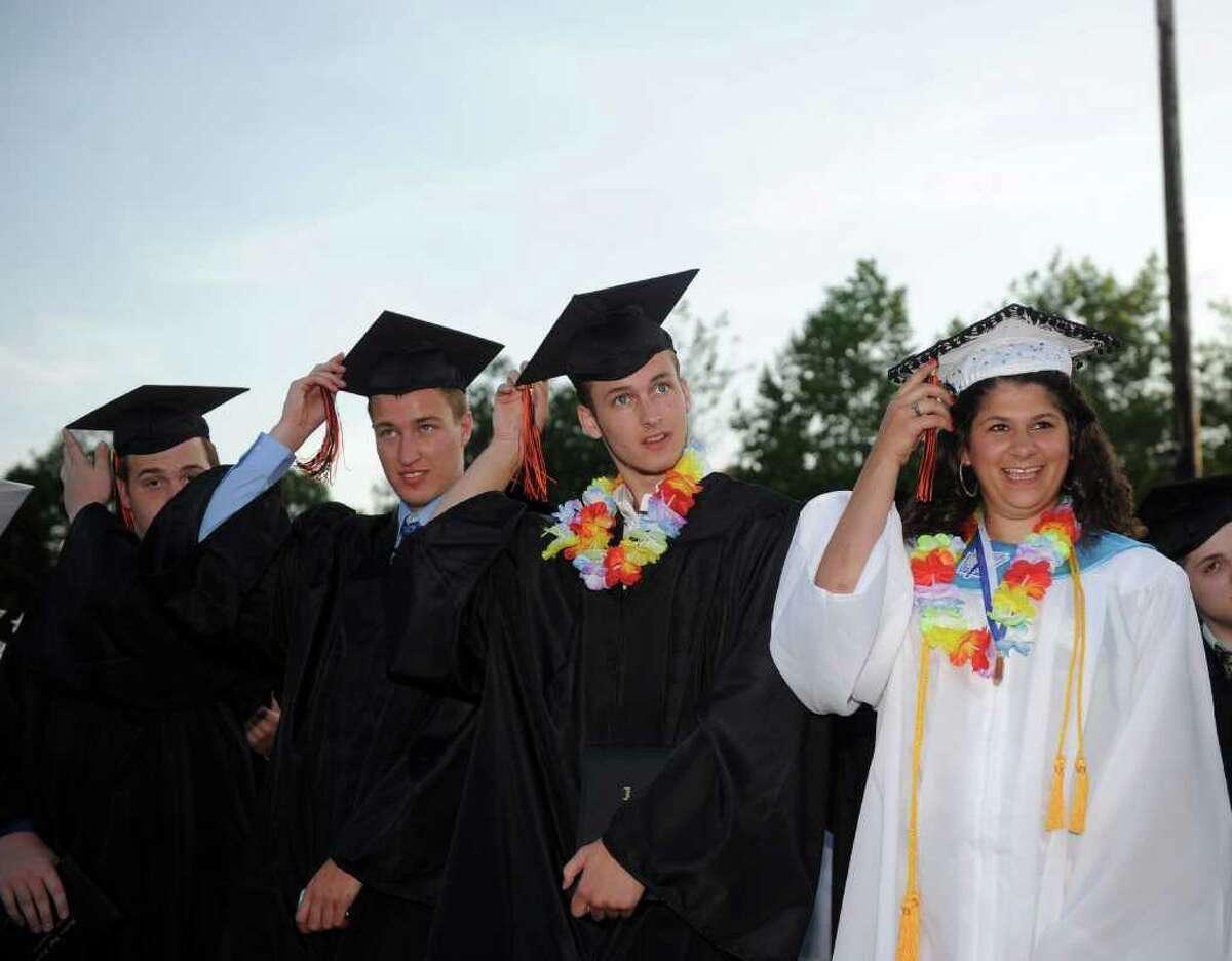 Shelton High School graduation ceremony on Monday, June 20, 2011.