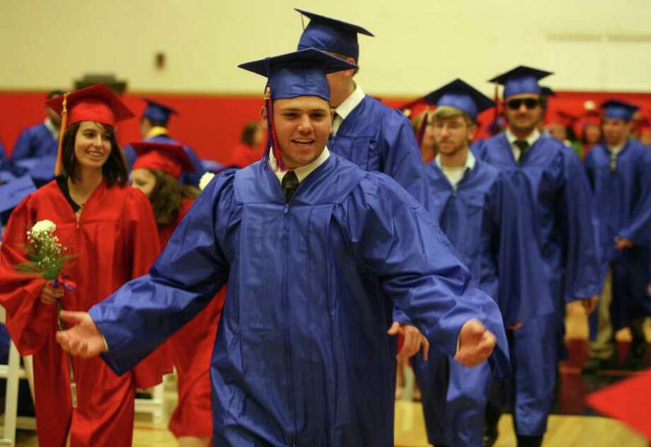Class of 2011 Commencement Exercises at Foran High School in Milford on Monday, June 20, 2011. Photo: Brian A. Pounds / Connecticut Post