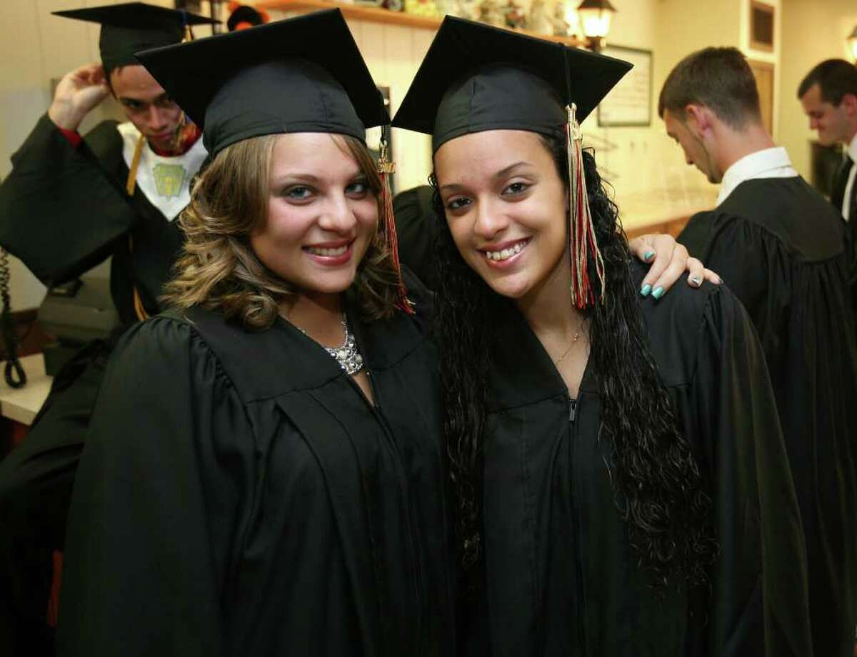 Platt Tech graduation in Milford on Monday, June 20, 2011.