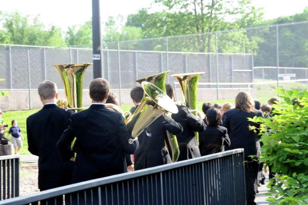 Greenwich High School's graduation on Monday, June 20, 2011.
