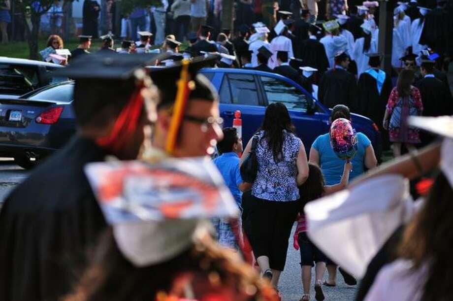 SEEN: Shelton High School Graduation 20/06/2011 Photo: Tebben Gill Lopez / Hearst Connecticut Media Group