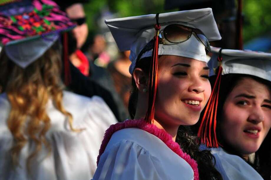 SEEN: Shelton High School Graduation 20/06/2011 Photo: Tebben Gill Lopez / Hearst Connecticut Media Group