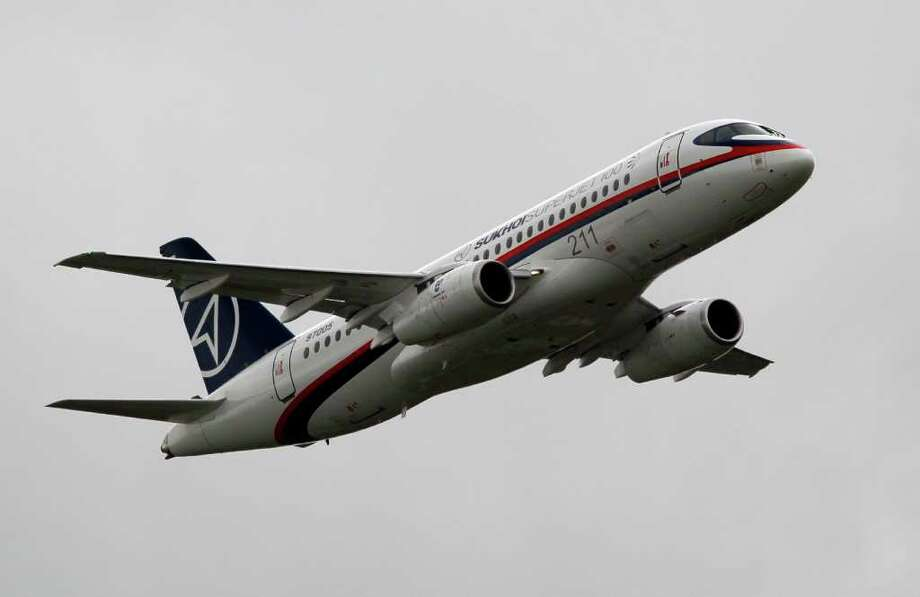 Soviet-era Russian aircraft were known for safety problems. That was supposed to change with the new Sukhoi Superjet. Photo: Francois Mori, AP / AP