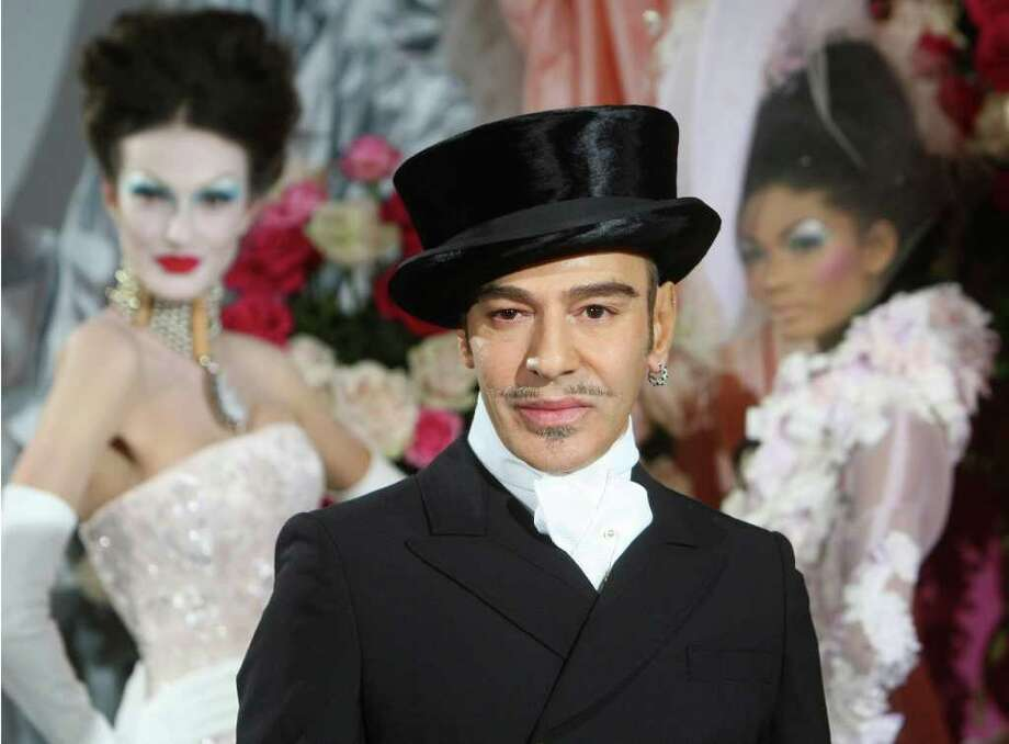 """In early 2011, a video of John Galliano surfaced showing him insulting cafe patrons and declaring """"I love Hitler."""" French fashion house Dior fired him on March 1, and he was found guilty on two counts of public insults based on origin, religious affiliation, race of ethnicity Thursday. He was sentenced to a €6,000 ($8,400) suspended fine, which means it goes on Galliano's record but he does not have to pay it."""
