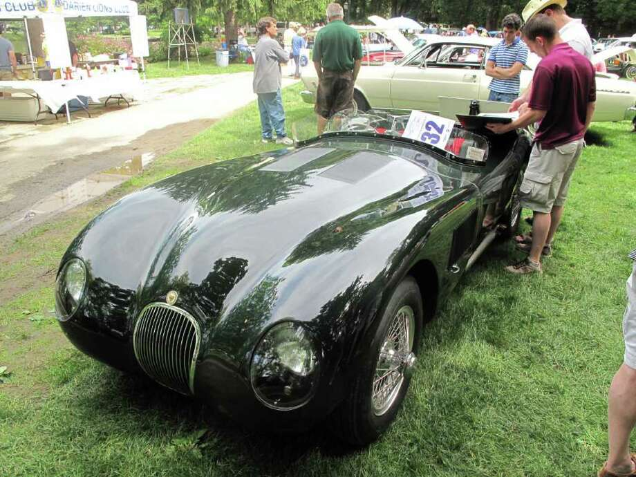 The 1952 Jaguar C-Type took home all the top honors at the event, including best in show. Photo: Paresh Jha / New Canaan News