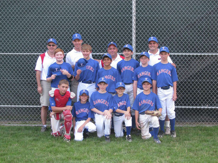 The Fairfield American Rangers defeated the Fairfield National Little Leauge's Twins on Saturday, 7-3, for the town little league championship. Photo: Contributed Photo / Fairfield Citizen contributed
