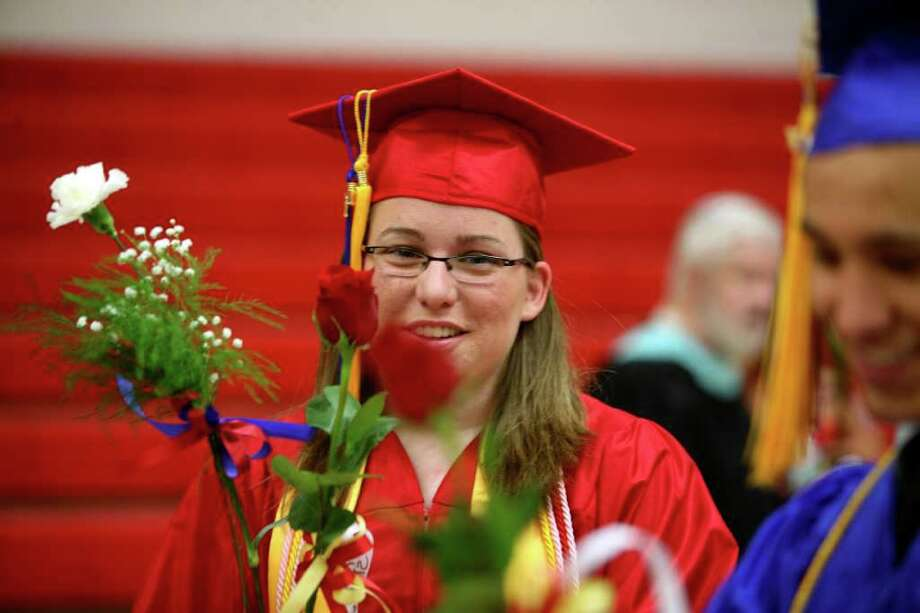 Foran High School graduation ceremony in Milford, Conn. on Monday, June 20, 2011. Photo: Brian A. Pounds / Connecticut Post