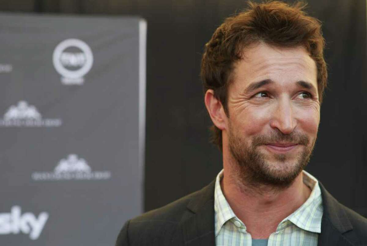Actor Noah Wyle poses during a photo opportunity before the screening of the Germany premiere on TNT Series 'Falling Skies' in Munich, Germany.