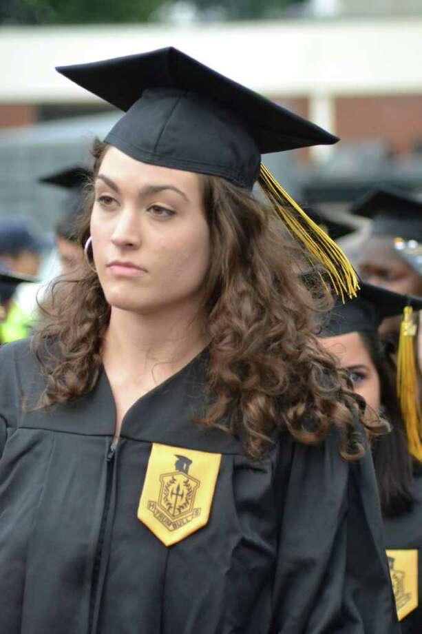 Trumbull High School Graduation in Trumbull, CT, 6/21/2011 Photo: Sean Meenaghan / Hearst Connecticut Media Group