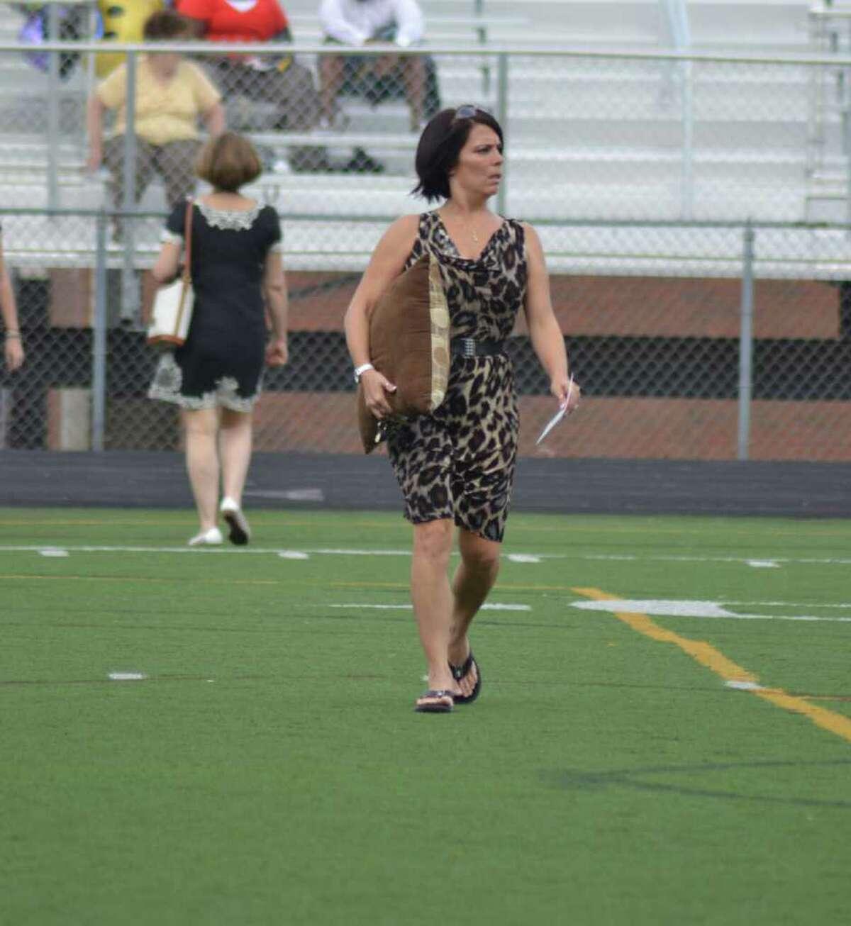 Trumbull High School Graduation in Trumbull, CT, 6/21/2011
