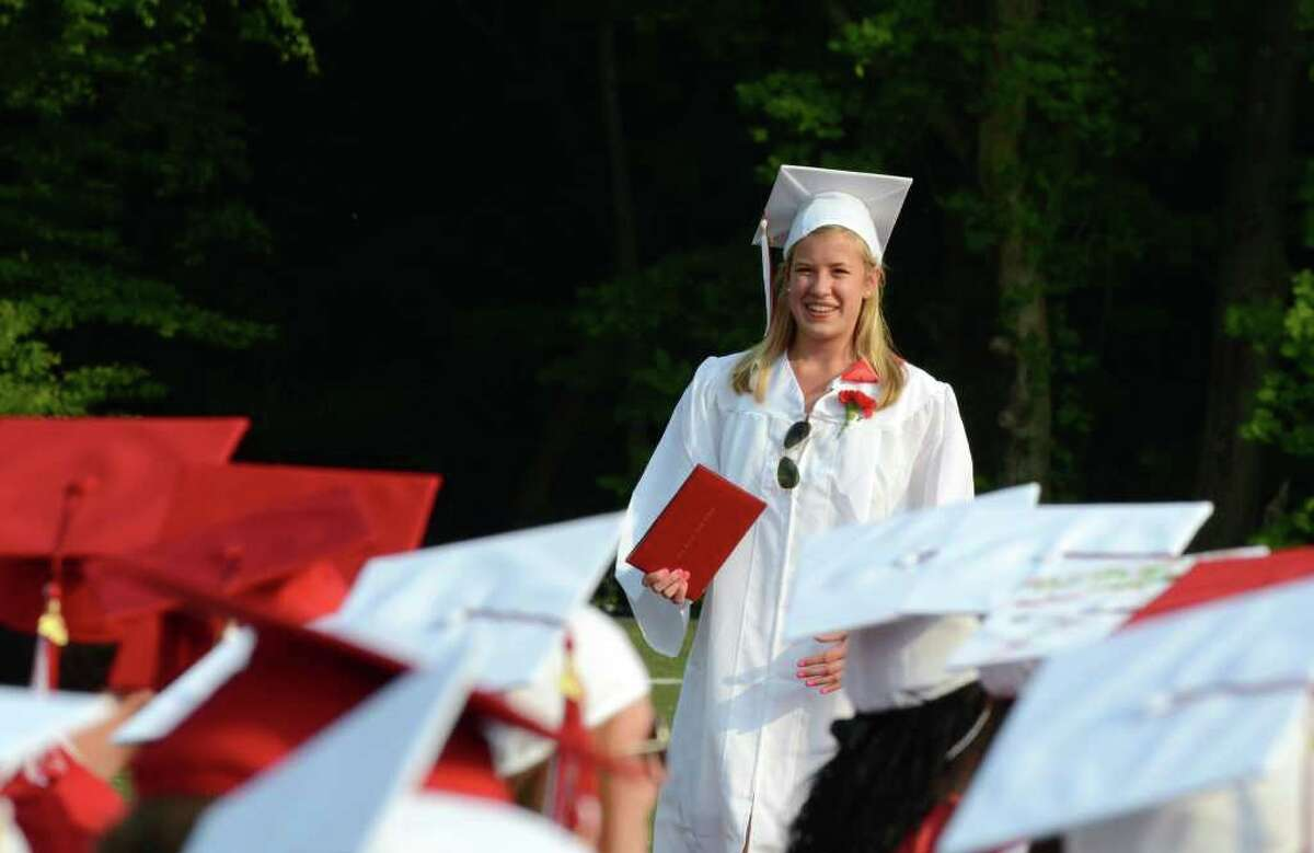 2011 New Canaan High School Commencement on Tuesday, June 21, 2011.