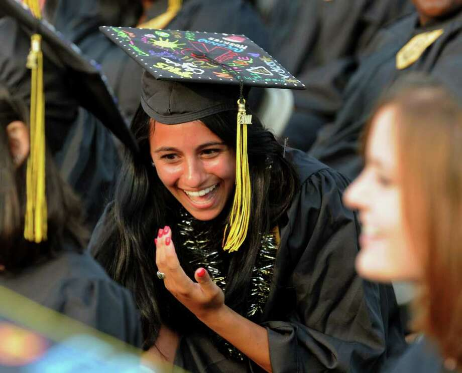 Highlights from Trumbull High School's Class of 2011 Commencement Exercises in Trumbull, Conn. on Tuesday June 22, 2011. Photo: Christian Abraham / Connecticut Post