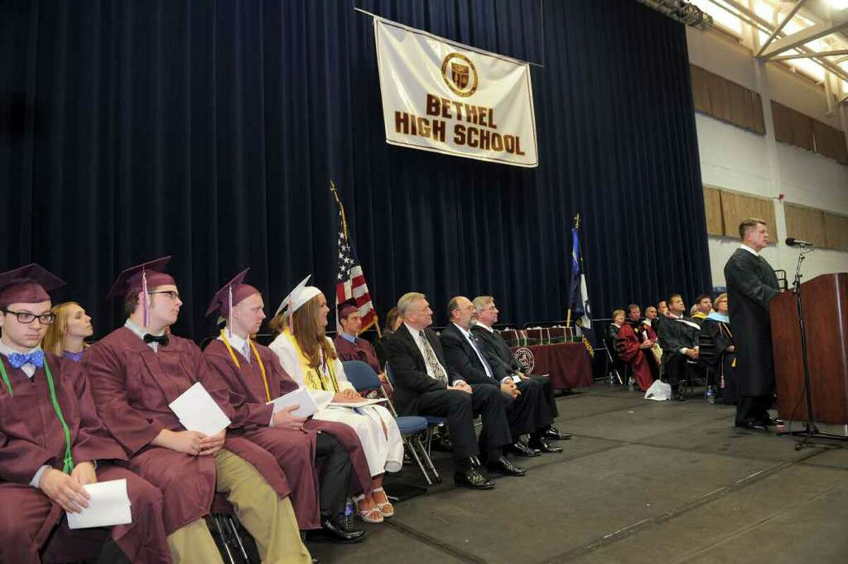 Bethel High School held its graduation ceremonies Tuesday, June 21, 2011 at Western Connecticut State University's O'Neill Center.