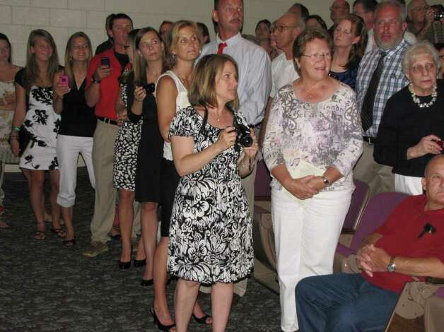 Were you seen at the Wamago Regional High School graduation on Tuesday, June 21, 2011? Photo: Vincent Rodriguez / The News-Times