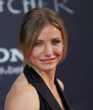 Face Shape: Round: Cameron Diaz Photo: Gero Breloer, STR / AP