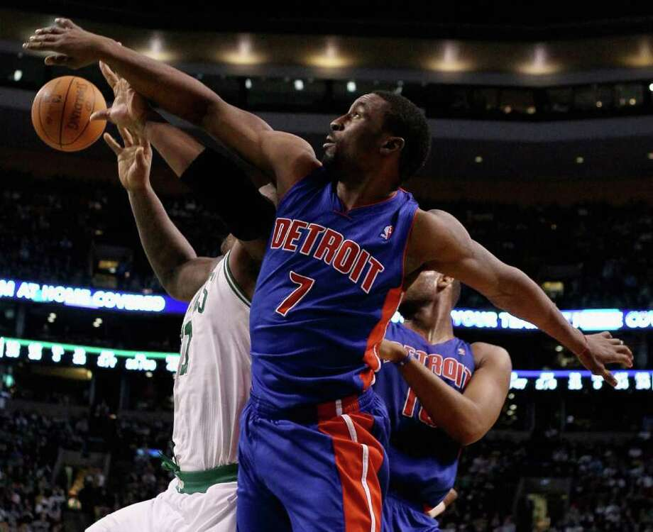 BEN GORDON signed with Detroit as a free agent in 2009, where he has played the last two season. For his career Gordon has played in 542 games and made 248 starts. He averages 16.9 points, 2.8 assists and 2.8 rebounds per game. Gordon currently has 9,148 career points. (Photo by Elsa/Getty Images) Photo: Getty Images
