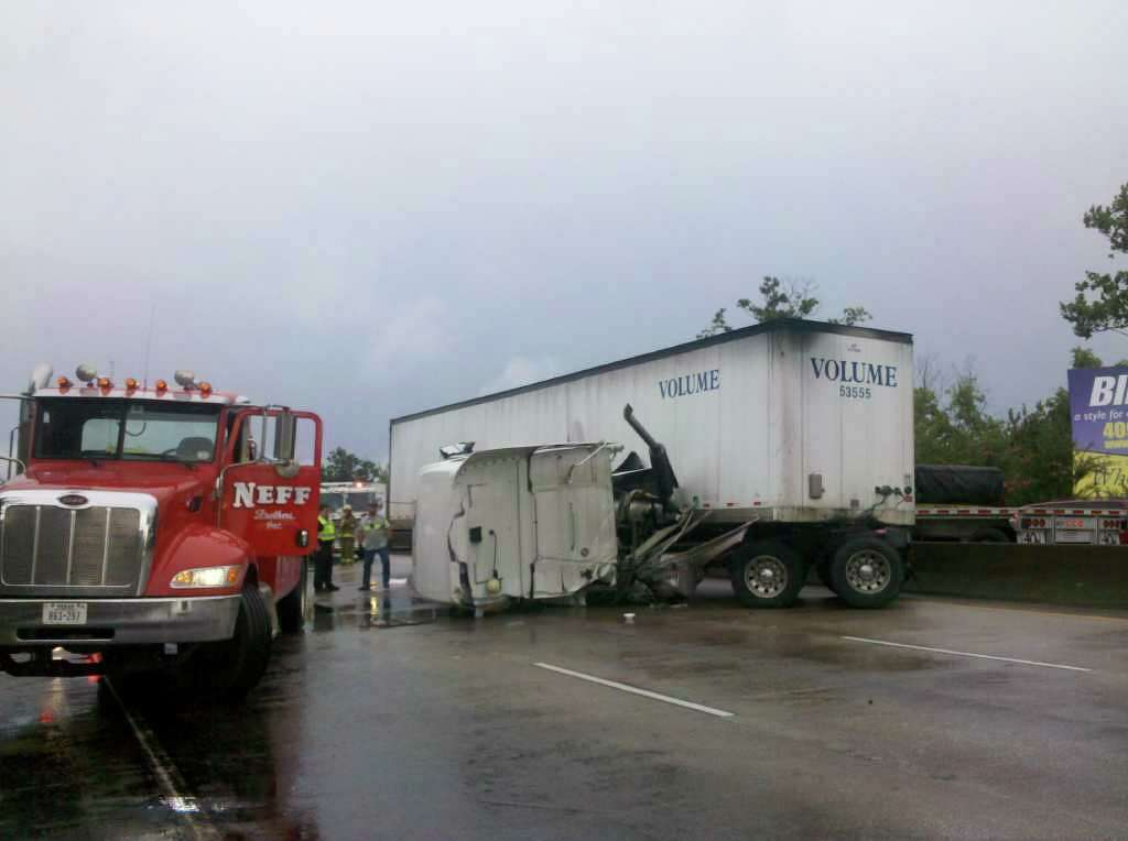 UPDATE: 18-wheeler accident cleared on Interstate 10 - Times