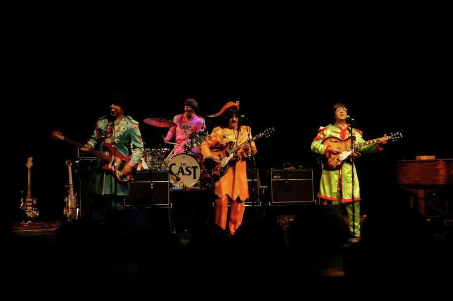 The Cast of Beatlemania will open the 38th summer season of the Levitt Pavilion for the Performing Arts in Westport with a free performance at 7 p.m., Sunday, June 26. Nearly 60 evenings of free entertainment will follow through Aug. 28. Photo: Contributed Photo / Stamford Advocate Contributed