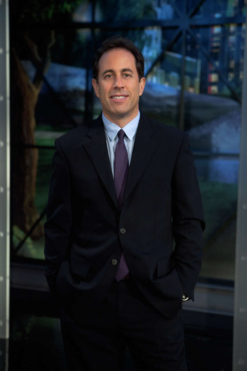 Jerry Seinfeld draws from his kids and home life for much of his current comedy. PATRICK HABRON / NBC /