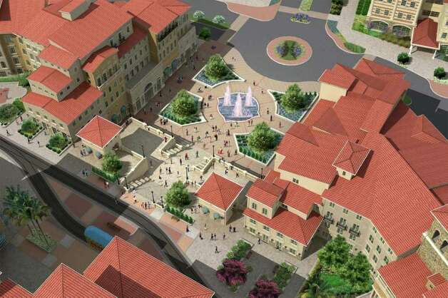 The piazza of the Éilan. Photo: Courtesy Image