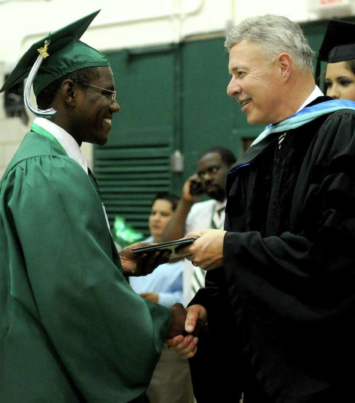 Norwalk High School's graduation ceremony on Wednesday, June 22, 2011.