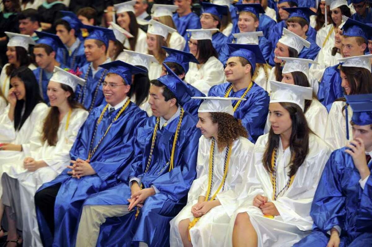 Newtown High School commencement exercises were held at Western Connecticut State University's O'Neill Center Wednesday, June 22, 2011.