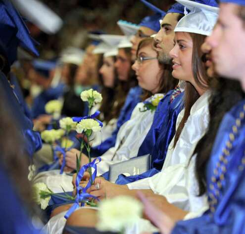 Newtown High School commencement exercises were held at Western Connecticut State University's O'Neill Center Wednesday, June 22, 2011 Photo: Carol Kaliff / The News-Times