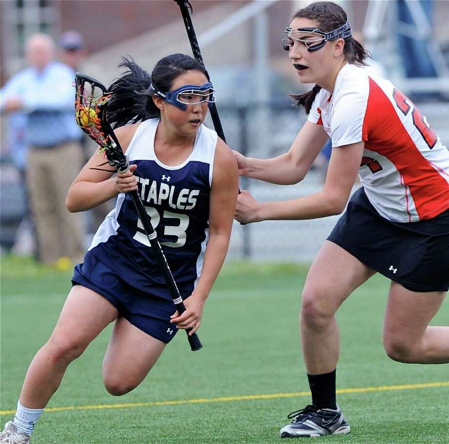 Staples High School senior quad-captain Nikki Seo Photo: File Photo / Connecticut Post File Photo