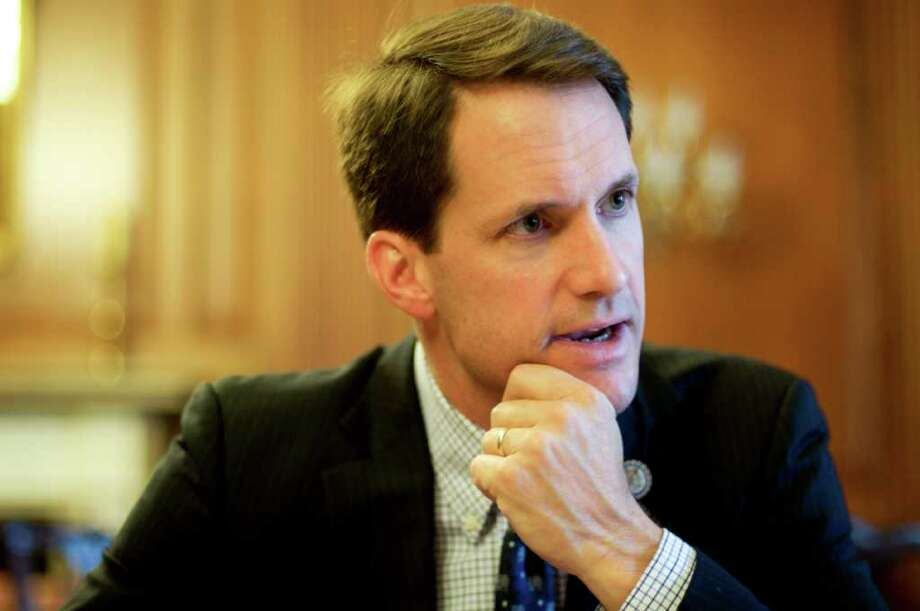 Rep. Jim Himes, D-Cos Cob, at the Rayburn Room in Washington, D.C. on June 16, 2011. (Sarah Tung/Hearst Newspapers) Photo: Sarah Tung/Hearst Newspapers / Connecticut Post Contributed
