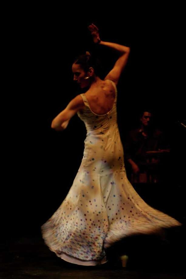 "EntreFlamenco co-founder Estefania Ramirez is a featured performer in ""Aire."" Photo: Courtesy, EntreFlamenco"
