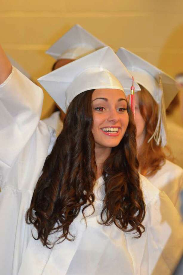 Masuk High School Graduation in Monroe, CT, 6/23/2011 Photo: Sean Meenaghan / Hearst Connecticut Media Group