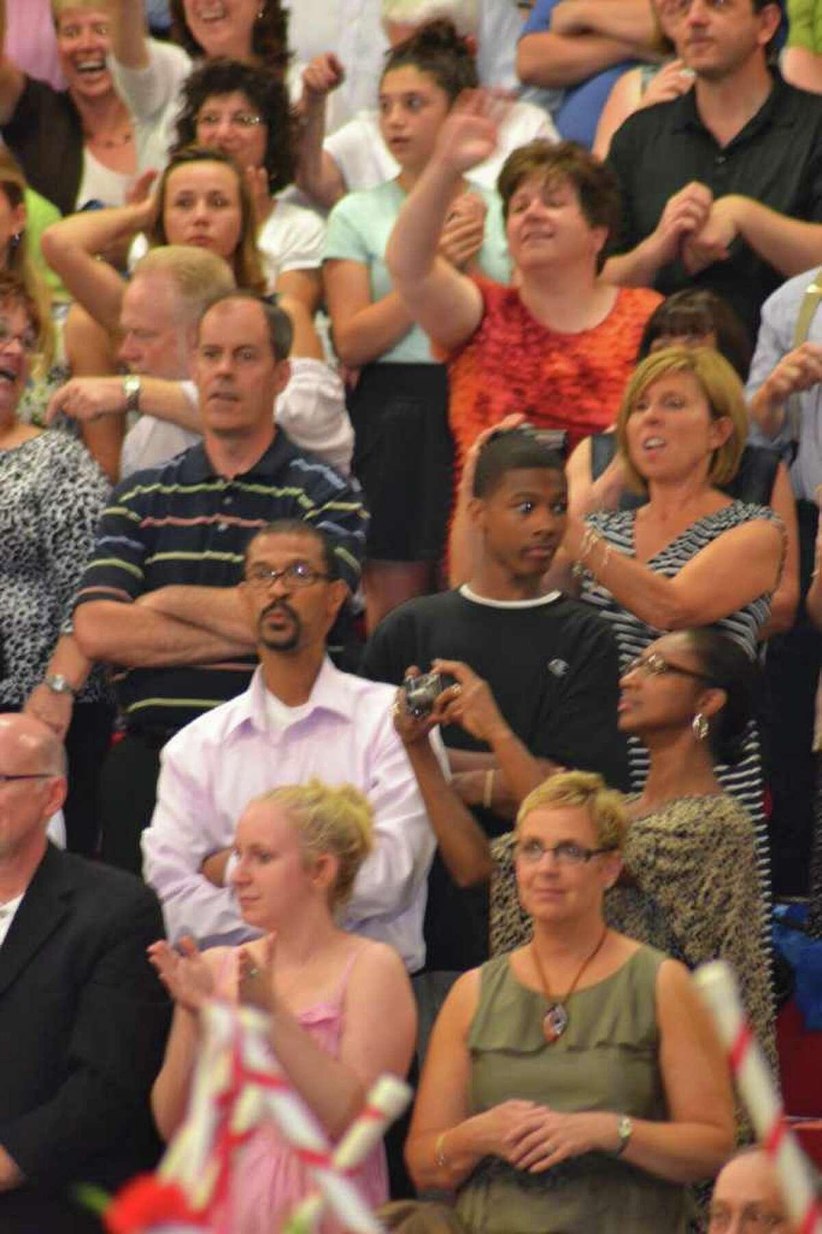 Masuk High School Graduation in Monroe, CT, 6/23/2011